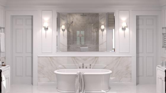 Villa bathrooms
